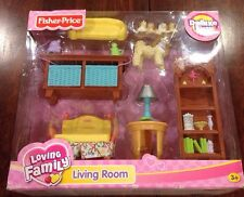 NEW Fisher Price Loving Family Living Room Set K5318 by Fisher-Price