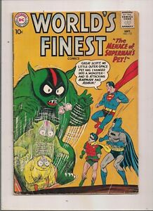 WORLDS FINEST COMICS #112 DC 1960 SUPERMAN BATMAN ROBIN