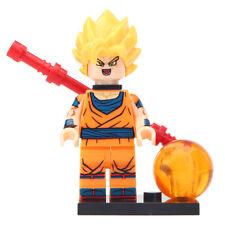 Original Goku - Dragon Ball Z Lego Moc Minifigure Gift For Kids New & Sealed