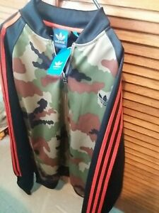Adidas XXL Mens Zip Up Jacket Very Rare Camouflage Limited Edition BNWT