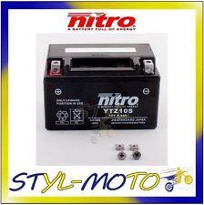 YTZ10S BATTERIA BATTERY NITRO AGM GEL HONDA CBR 1000RR FIREBLADE 2005