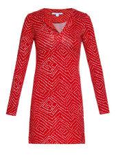 DVF Diane von Furstenberg Reina Tunic Dress US sz 12 NWT