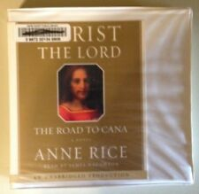 CHRIST THE LORD THE ROAD TO CANA by Anne Rice CD Unabridged Ex-Library