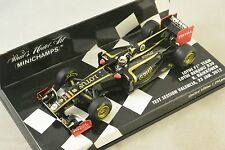 MINICHAMPS 410120179 - LOTUS F1 TEAM RENAULT Test Valence 2012 Raikkonen 1/43