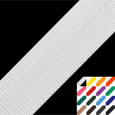 25m (0,54 EUR/m) Gurtband 30mm Polypropylen 16 Farben - Taschenband Tragegurt