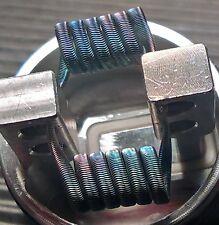 Triple Core Alien, 0,18 Ohm dual, 3mm, 3*28Ga+36Ga Ni80, Handmade by ReBosCC!!!