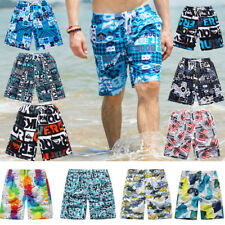 Swim Beach Shorts Colorful Quick Dry Men's Surf Board Shorts Random Pants