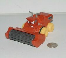 Disney Pixar Cars Hydro Wheels Frank Combine Harvester Plastic Bath Toy Deluxe
