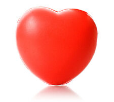 1 x Heart Shaped Stress Ball (reliever ADHD autism educational toy)