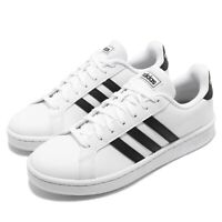 adidas Grand Court White Black Women Classic Casual Shoes Sneakers F36483