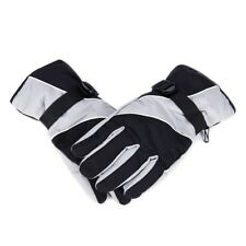 Snow Gloves Black and Grey Cold Weather Winter Sports Hiking Gloves by P5P4