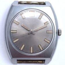 Vintage Soviet RAKETA WindUp Watch Cute Dial&Case USSR 70s 2609 *US SELLER* #838