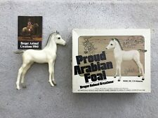 New ListingNice Vintage Breyer Horse #218 Matte Alabaster Proud Arabian Foal Picture Box