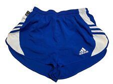 adidas 2000er vintage Sprinter Shorts Gr. ca. S - M Sporthose Blau FS9