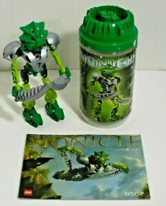LEGO Bionicle 8567 Lewa Nuva Green Toa of Air 100% COMPLETE Great Condition 2002