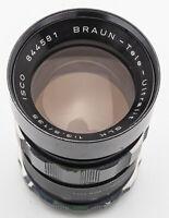 Braun Tele Ultralit SLK 3.5 135mm Teleobjektiv Objektiv
