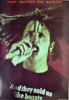 Rage Against the Machine Zach De La Rocha Rare Poster 24 x 35