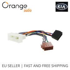 Wiring Lead Harness Adapter for Kia Carnival 2006- ISO stereo plug adaptor