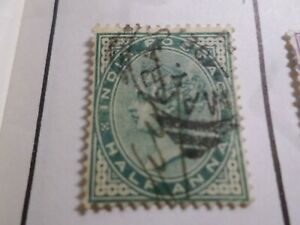 INDE ANGLAISE, timbre CLASSIQUE 33 oblitéré, VF used stamp