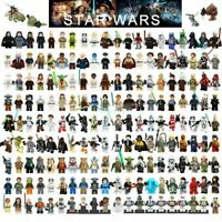 Star Wars Minifigures Darth Vader Obi-Wan Skywalker Jedi Ahsoka Mini figure Lego