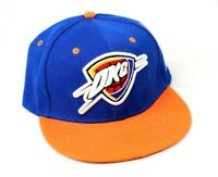 NEW Oklahoma City Thunder NBA Basketball New Era Snapback Hat Orange Blue