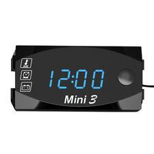 12V Digital LED Display Voltmeter Voltage Gauge Panel Meter Car Motorcycle D5X5