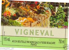 Etiquette de vin - VIGNEVAL Blanc (178)