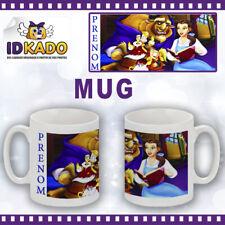 Mug (tasse) Enfant LA BELLE ET LA BETE personnalisé avec Prénom Réf: ME-39
