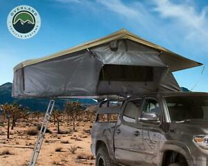Nomadic 3 Ext. Roof Top Tent Gray Body, Green Rain Fly LOADED + FREE Bonus Pack