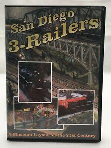 San Diego 3-Railers DVD