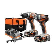RIDGID X4 18-Volt Lithium-Ion Cordless Drill and Impact Driver 2-Tool Combo Kit