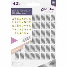 Crafter's Companion Gemini Hot Foil Monogram Stamp Die - Classic Alphabet