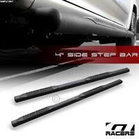 """For 2004-2008 Ford F150 Super Cab 4"""" Matte Black Oval Side Step Nerf Bars Boards"""