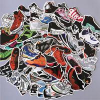 100Pcs Basketball Air Jordan Sneaker Sticker Bomb Pack Skateboard Luggage Laptop