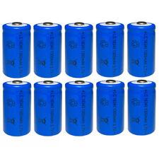 10 BATTERIA RICARICABILE LC16340 1300mAh 3.7V batterie ricaricabili Mezza torcia