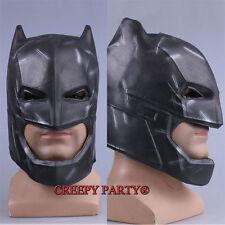 Batman v Superman  Latex Mask Hallowmas Cosplay Costume Adult Helmet Full Masks