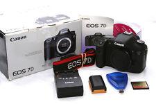 Canon EOS 7D 18.0MP Digital SLR Camera - Black (Body only) 17k shutter **5022**