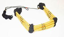 King Faisal Gold Igal HEAD DRESS shemagh agal band ring Draw String Arab New