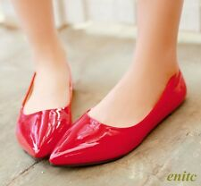 New Sweet Autumn Women's Pointy Toe Flats Casual Comfort Shoes Dating New Hot**