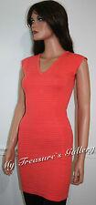 NEW Guess Logo Sweater Dress Tunic Top Orange, NWT, Size S