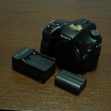 (with Bags) Sony Alpha SLT-A57 16.1MP Digital SLR Camera - Black (Body Only)