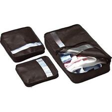 Design Go Bag Packer - Handy 3-Piece Packing Organizer Set/Ideal As A Gift