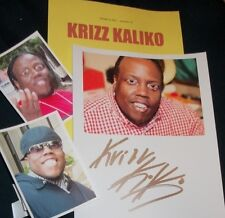KRIZZ KALIKO Autographed Photo & Photos- HOT