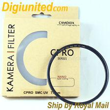 Camdiox 18 layer 72mm C-Pro Nano Slim Multi-Coated MC SMC UV filter for DSLR DC