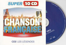 CD CARTONNE CARDSLEEVE 15t BRASSENS/FERRE/LAFFORGUE/TRENET/BARBARA/BREL/DISTEL
