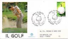 Repubblica Italiana 1988 FDC Filagrano Il Golf