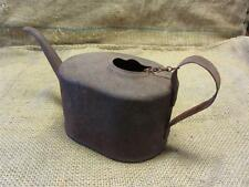 Vintage Metal Oil Can > Antique Watering Can Oiler Tractor Auto Metal Old 8316