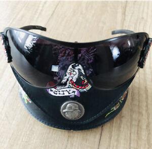 ED Hardy Frauen schwarze randlose Sonnenbrille mit Strass Steinen, Neu