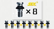8PCS D40 Solid M16  pull stud/retention knob  DIN69872