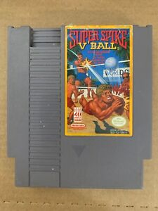 Super Spike V'Ball NES Nintendo Tested Working 100% Authentic
